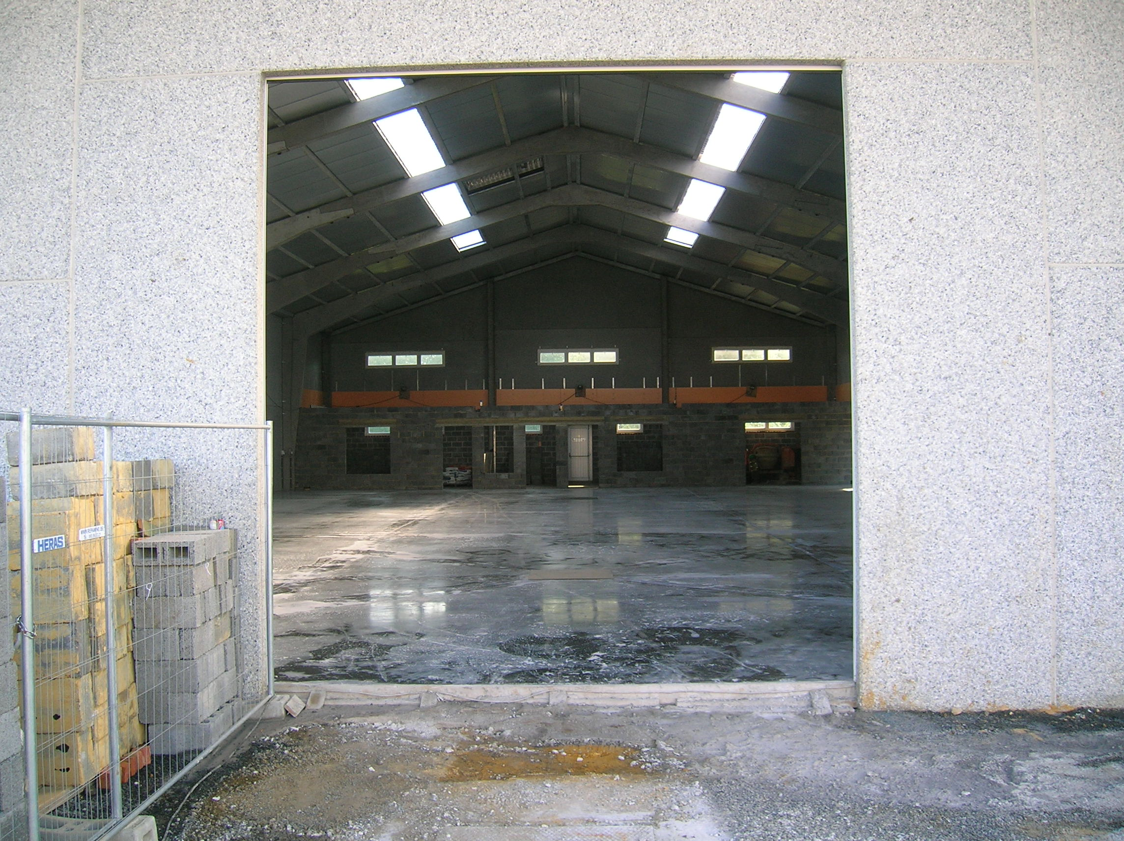 Hall de construction